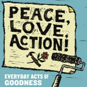 Peace Love Action Cover