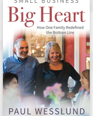 cover of Small Business, Big Heart by Paul Wesslund