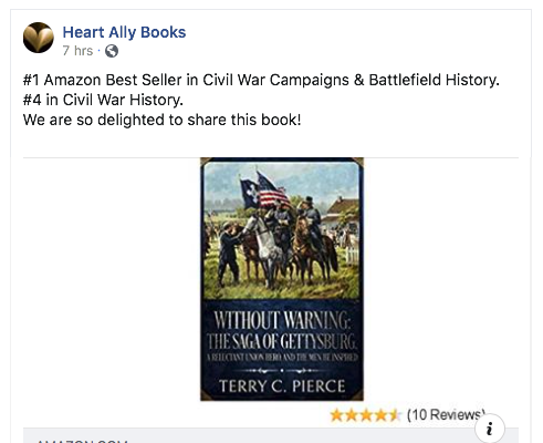 screenshot of book cover and Amazon sales rankings