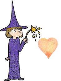 Grammarwitch with a heart